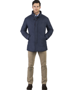 French Blue Stretch Carcoat