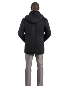 Charcoal Cashmere City Active Parka
