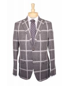 Flannel Bay sport coat, Eton dress shirt and Giorgio Armani tie