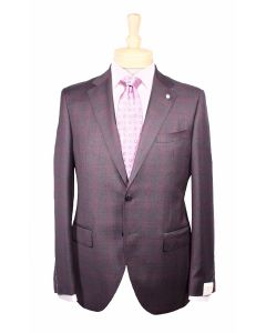 Luigi Bianchi suit, Eton dress shirt and Italo Ferretti tie
