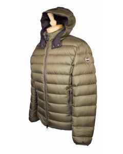 Colmar down hooded jacket