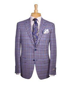 Canali sport coat, Ermenegildo Zegna tie, Eton dress shirt and Edward Armah round pocket.