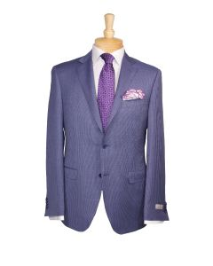 Canali suit, Ermenegildo Zegna tie, Eton dress shirt and Edward Armah round pocket