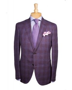 Luciano Barbera sport coat, Eton dress shirt, Brioni tie and Edward Armah round pocket