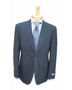 Canali wool suit and tie, Eton dress shirt