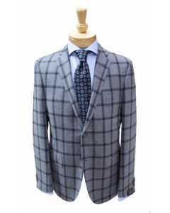 Corneliani sport coat, Eton dress shirt and Robert Jensen tie