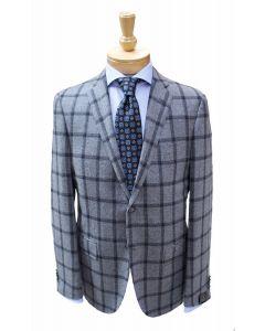 Corneliani sport coat, Eton dress shirt and Robert Jensen tie