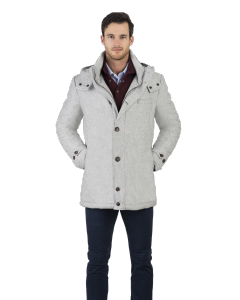 Slate Grey City Active Parka
