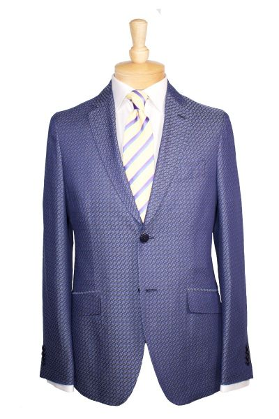 Etro sport coat and tie with Eton dress shirt