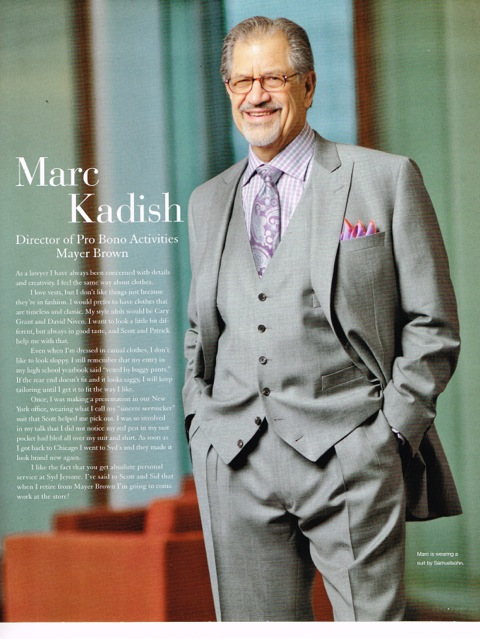 Marc Kadish featured in Syd Jerome Magazine