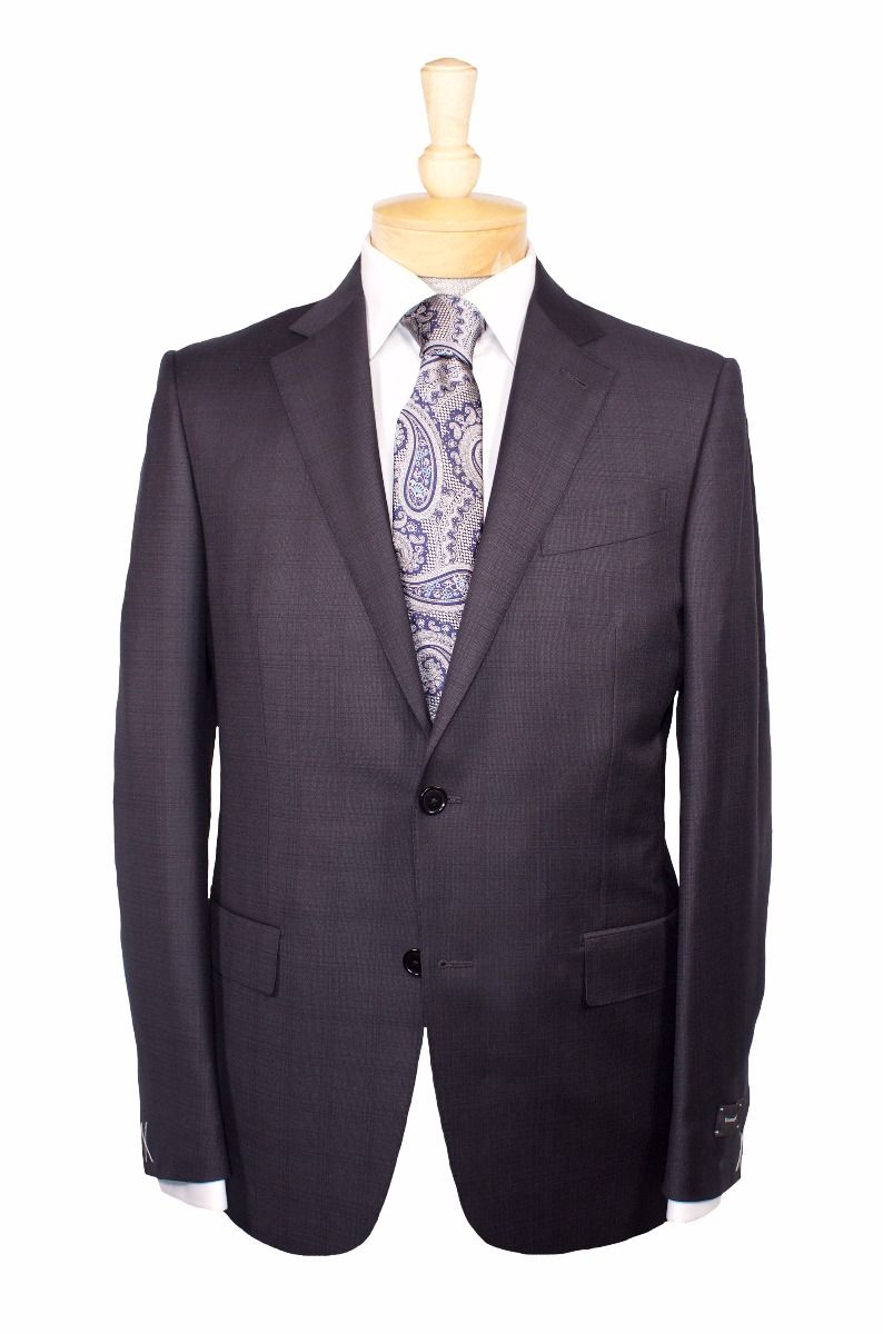 Ermenegildo Zegna Suit And Tie Eton Dress Shirt