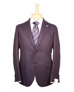 Uigi Bianchi sport coat, Eton dress shirt and Italo Ferretti tie