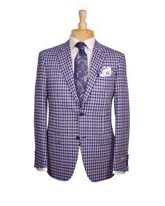 Canali sport coat, Ermenegildo Zegna tie, Eton dress shirt and Edward Armah round pocket.