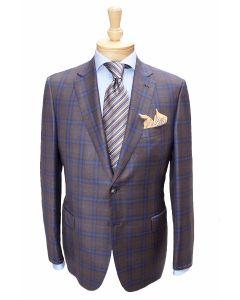 Brioni brown sport coat and tie, Eton dress shirt