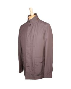 Luciano Barbera nylon raincoat