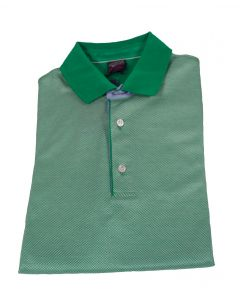 Paul & Shark Green Cotton Polo