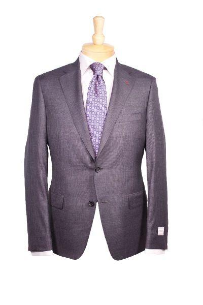Samuelson suit, Ermenegildo Zegna and Eton dress shirt