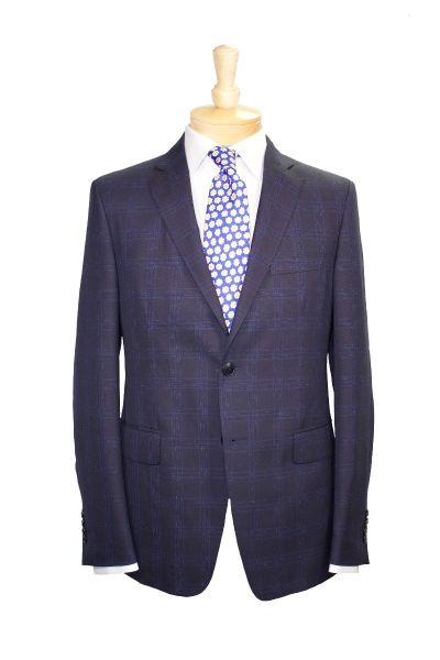 Etro suit and tie with Eton dress shirt